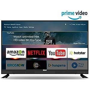 RCA 124 cm (49 inch) Full HD Smart LED TV 49WR1901S (Black) (2019 Model) | with Quantum Backlit Technology