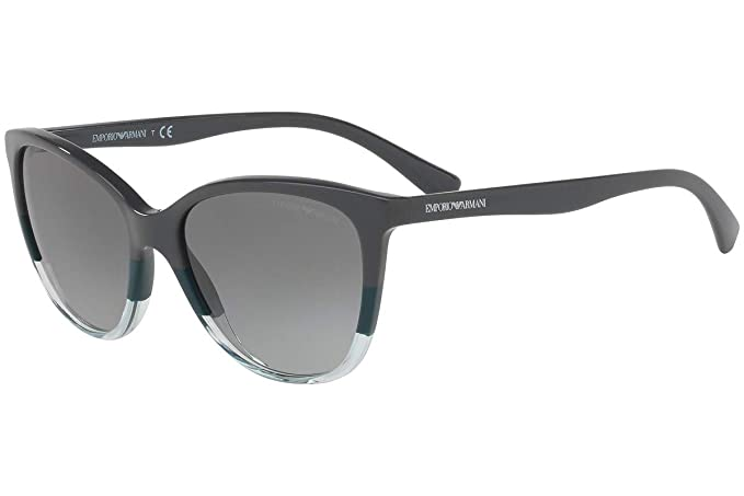Emporio Armani EA4110 Gafas de Sol Gris Verde Aqua ...