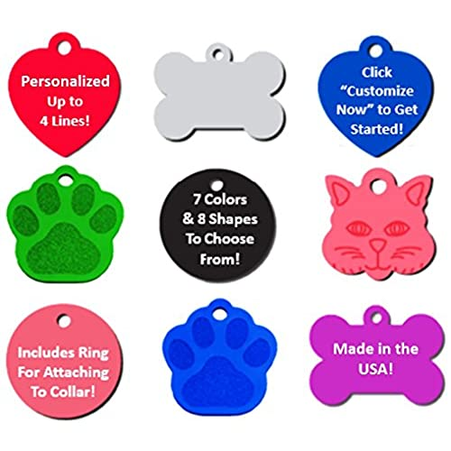 engraved dog tags amazon com