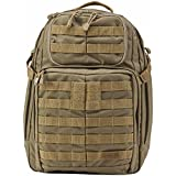 5.11 RUSH24 Tactical Backpack for Military, Bug Out Bag, Medium, Style 58601