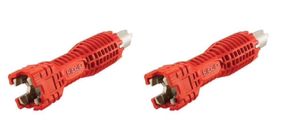 Pack of 2 Sink Wrench Ridgid 57003 EZ Change Faucet Tool