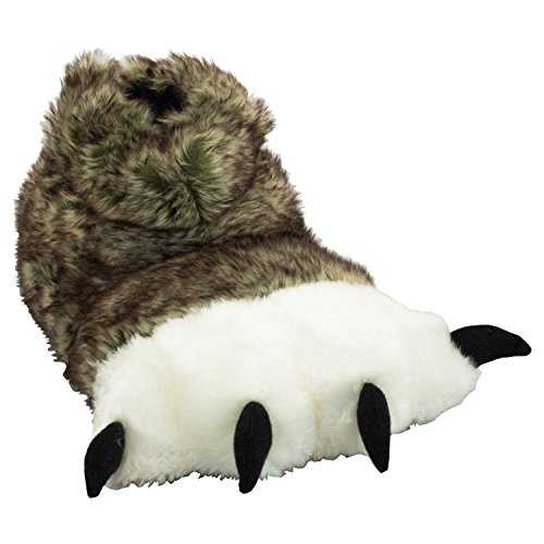 Wolf Paw Kid Slippers by Lazy One (Boys Wolf Costume)