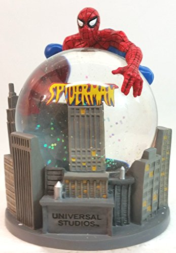 Spider-man Marvel Universal Studios Snow Globe New! Discontinued 2003