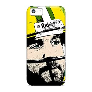 New Premium Flip Case Cover Green Bay Packers Skin Case For Iphone 5c