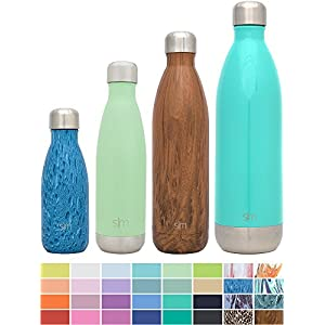 Simple Modern Stainless Steel Vacuum Insulated Double-Walled Wave Bottle, 17oz - Mint Green