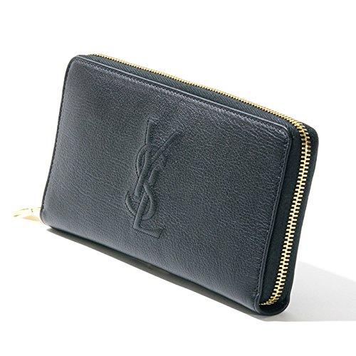 サンローラン SAINT LAURENT 長財布 352904 CP20O Round Zip Leather Wallet Cp20O [並行輸入品] B01M0BZ9TU