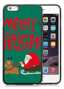 Best Buy iphone 5s Case,Santa Claus Black iphone 5s TPU Case 3