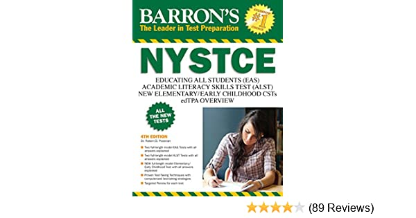 Amazon barrons nystce 4th ed easalstcstsedtpa ebook dr amazon barrons nystce 4th ed easalstcstsedtpa ebook dr robert d postman kindle store fandeluxe Gallery