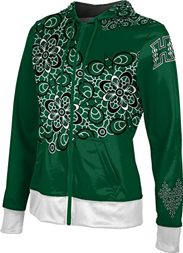 Prep Full Zip Hoodie (ProSphere University Of Hawaii Women's Fullzip Hoodie - Foxy (Large))