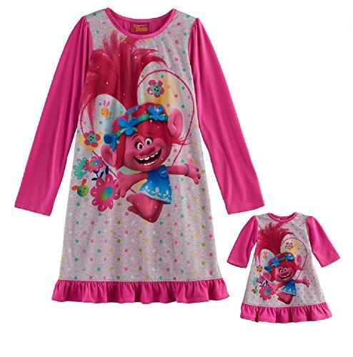 9582484183 DreamWorks Trolls Poppy Nightgown   Doll Gown Set - Girls ...