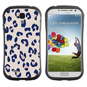 "Pulsar iFace Series Tpu silicona Carcasa Funda Case para SAMSUNG Galaxy S4 IV / i9500 / i9515 / i9505G / SGH-i337 , Patrón Leopard Pink Beige Piel Imprimir"""