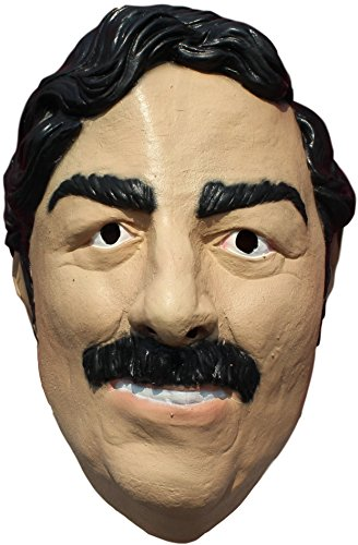 Ghoulish Productions Pablo Escobar Adult Latex Mask]()