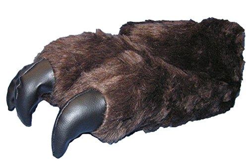 Tatze Hausschuhe Bären Plüsch Kralle 41 46 Tierhausschuhe 1RTqUFx