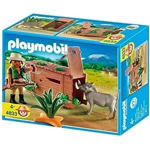 Playmobil 626123 - Selva Cazador Furtivo+Jabalí