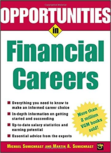 Opportunities In Financial Careers Opportunities In Series
