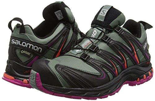 Gtx Running Multicolor 3d black Salomon Xa Shoes coral Tt light Punch Women''s Pro Trail n8qnxYgIF