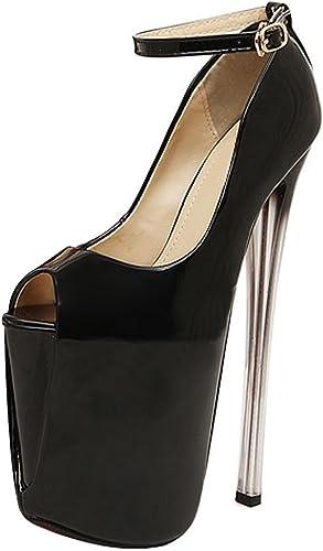 Women's Peep Toe Platform Stiletto