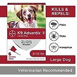 K9 Advantix II Flea and Tick Prevention for Large