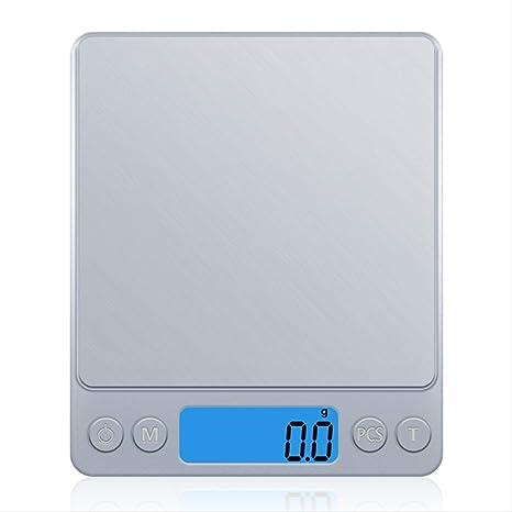 Balanza electrónica de cocina Báscula de cocina digital Mini ...