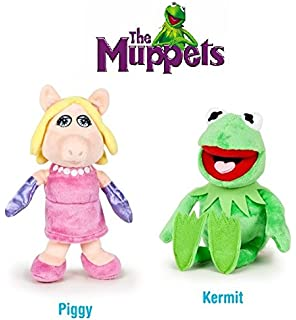The Muppets - Pack 2 plush toy Quality super soft - Kermit the frog 22cm +