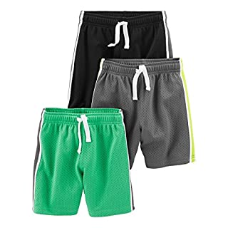 Simple Joys by Carter's Toddler Boys' 3-Pack Mesh Shorts
