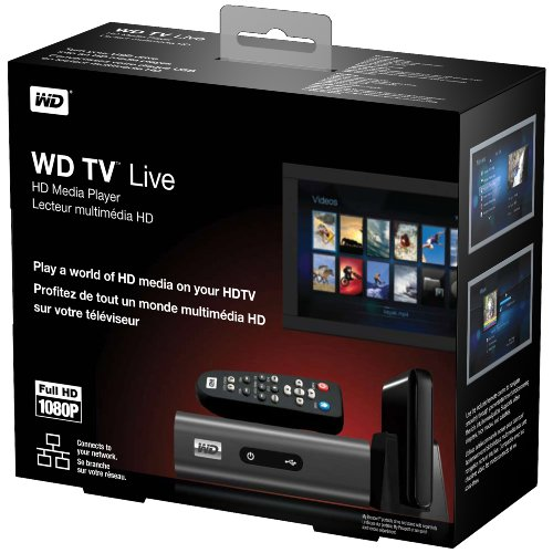 WD WD TV Live Network-ready HD Media Player (Old Version