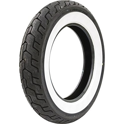 Dunlop D402 Harley-Davidson Whitewall Rear Tire - MU85B-16/Wide White Wall by Dunlop (Image #1)