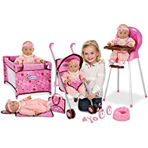 Amazon Com Graco Baby Doll Playset Stroller Swing