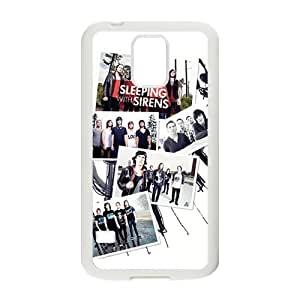Sleeping With Sirens Fashion High Quality Comstom Plastic case cover For Samsung Galaxy S5