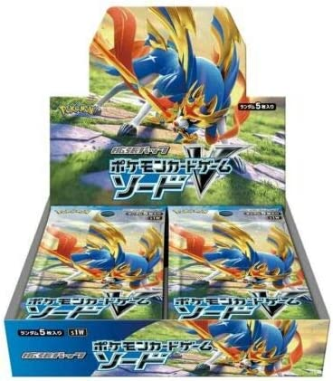 Pokemon Card Sword & Shield - Expansion Pack Sword Booster Box ...