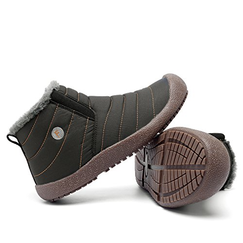 9e9e9437c50377 hot sale 2017 CIOR Mens Anti-Slip Snow Boots With Fully Fur Lined High Top