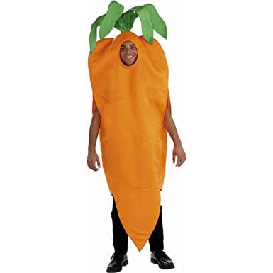 Forum Adult Carrot Costume - Small  sc 1 st  Amazon.com & Amazon.com: Forum Novelties - Adult Carrot Costume: Clothing