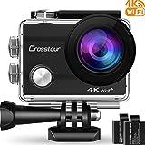 Crosstour Action Camera 4K WIFI Ultra HD Waterproof 2
