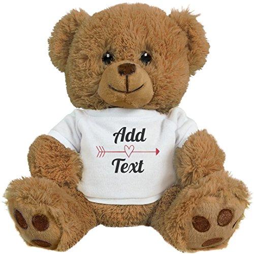 Cute And Custom Design: 8 Inch Teddy Bear Stuffed Animal