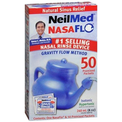 NeilMed Nasaflo Neti Pot Pack