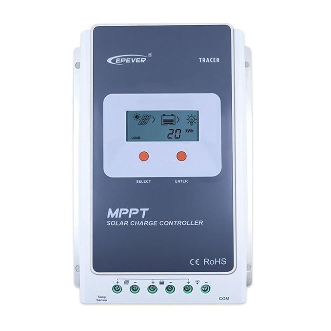 4 opinioni per Qaurora MPPT Solar Charge Controller Tracer A Serie 10A con 12V / 24V DC