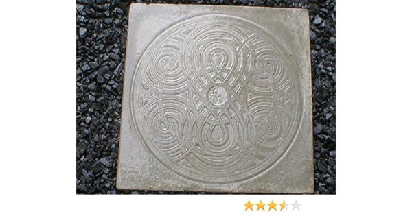 Giant Celtic, Irish, Scottish, Garden Steppingstone Mold, Concrete #SS-2222
