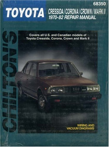 Toyota Cressida, Corona, Crown, and Mark II, 1970-82 (Haynes Repair Manuals)