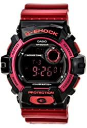 G-Shock G-8900 Crazy Color Trending Series Men's Luxury Watch - Glossy Red / One Size
