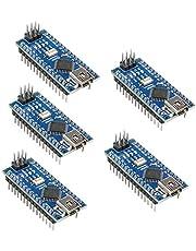 KeeYees Nano V3.0 Module Mini Nano Board ATmega328P CH340G Chip 5V 16MHz for Arduino (5pcs)