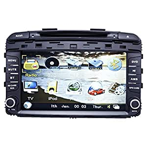 Magic Touch 8 Inch Android KIA Soranto Wi-Fi GPS and DVD - Model 2016