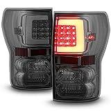 For 07-13 Toyota Tundra Pickup Smoked Lens C-Shape LED Tube Tail Brake Light Lamp Assembly