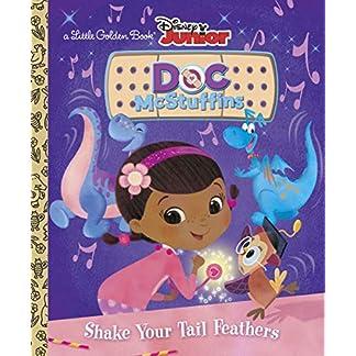 Shake Your Tail Feathers (Disney Junior: Doc McStuffins) (Little Golden Book)