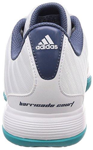 Femme De Tennis Barricade W 000 Blanc Court Chaussures blanco Adidas xTqIwOYw