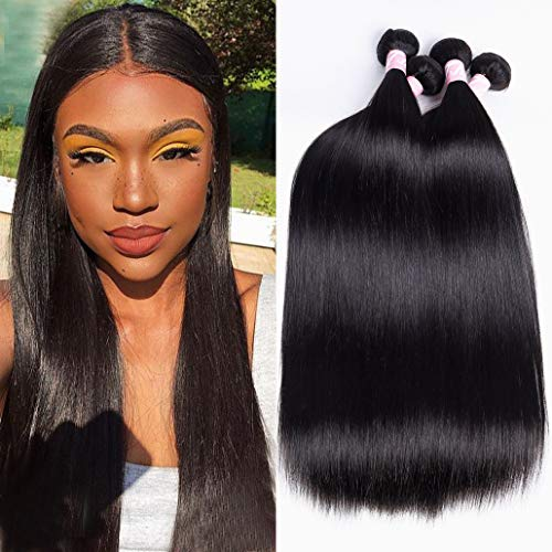 4 Bundles Peruvian Straight Hair 24