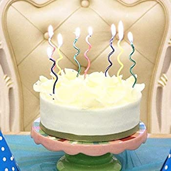 Celebration Candles 1 21 Year Contemporary Countdown Birthday Candle White C21W