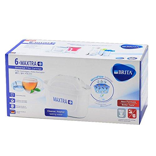 BRITA MAXTRA PLUS カートリッジ ブリタ マクストラ プラス 6個セット [並行輸入品]