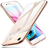 "iPhone 8 Case, iPhone 7 Case, ESR iPhone 8 Clear Soft TPU Cover [Support Wireless Charging] for Apple 4.7"" iPhone 8 (2017 Release)/ iPhone 7 (2016 Release)(Clear)"