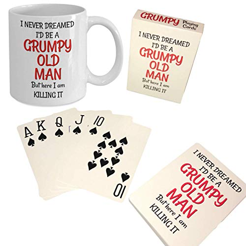 Never Dreamed I'd Be a Grumpy Old Man Gift Set