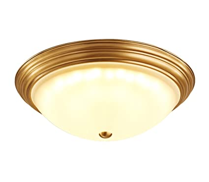 ZHDC® American lámparas de techo simple, dormitorio Luz de ...